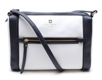 Kate Spade Color-blocking Chic Leather Preppy Cross Body Bag