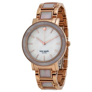 Kate Spade KATE SPADE Gramercy Mother of Pearl Dial Rose Gold-plated 1YRU0396