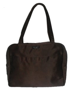 Kate Spade Large Sonia Nylon Made In Usa Tote in Chocolate Brown