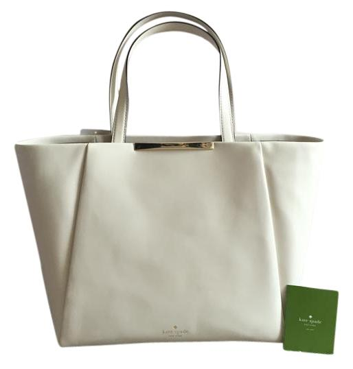 Kate Spade Lenora Camden Way Cream Tote Bag on Sale, 47% Off ...