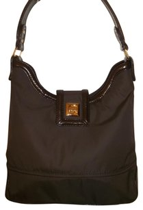 Kate Spade Nylon Leather Hobo Bag