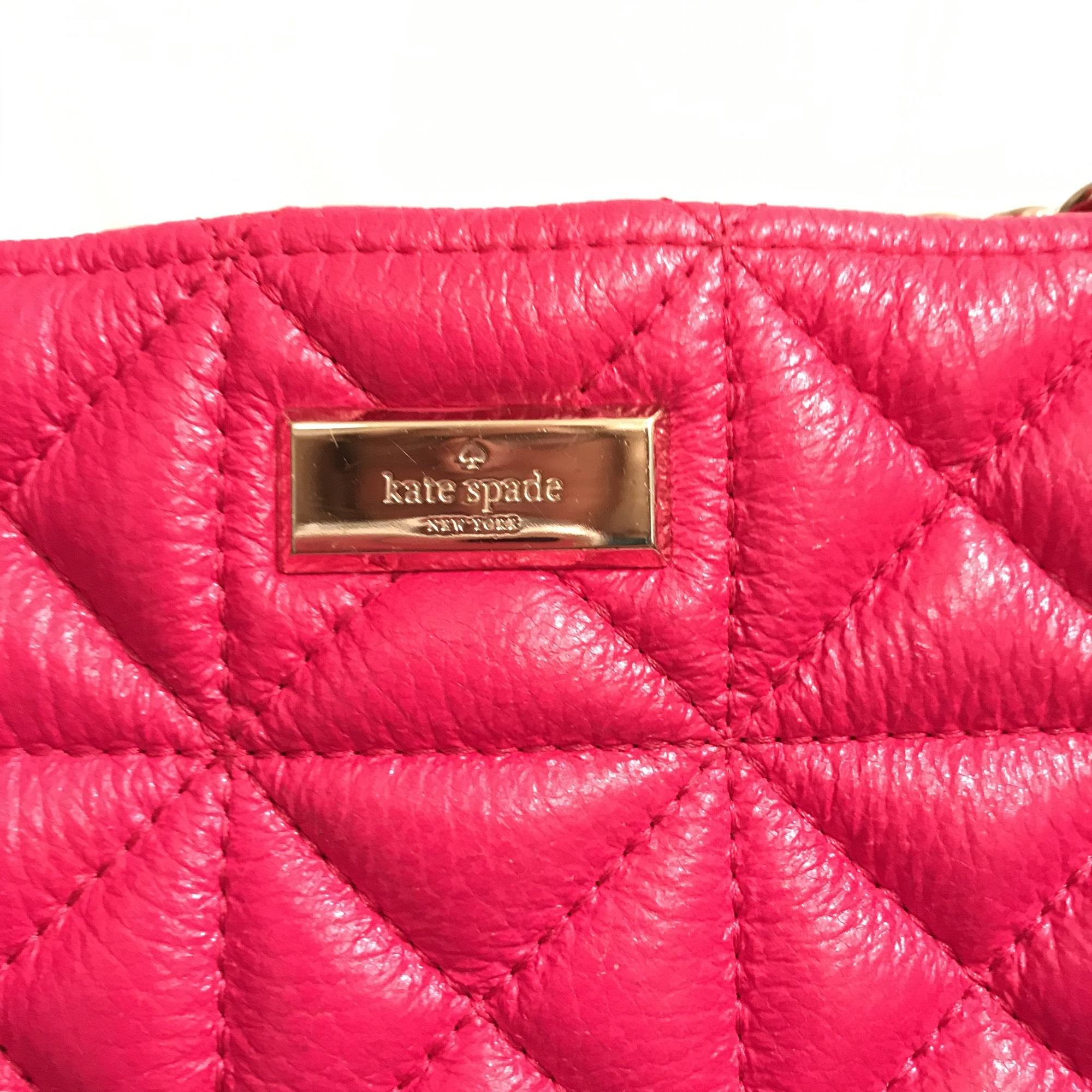 Kate Spade Quilted Sedgewick Place Phoebe Pink Gold