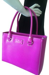 Kate Spade Satchel in baja rose pink