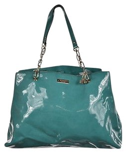 Kate Spade Womens Teal Satchel in Blue