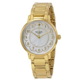 Kate Spade Scallop Gramercy Mother of Pearl Dial Ladies Watch