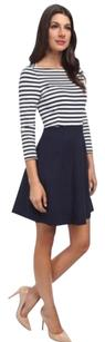 Kate Spade short dress Navy/white Selma Space Stripe on Tradesy