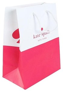 Kate Spade Shopping Tote in Pink and White
