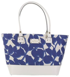 Kate Spade Tote in Blue & White