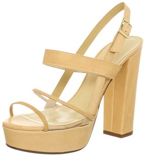 Kate Spade Wedge Sandals Women Izzy Izzy Sandals Izzy Brown Women Natural/ Vacchetta Clear Platforms