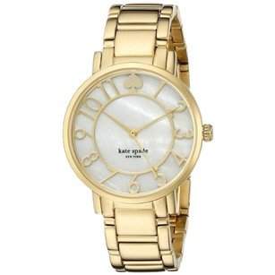 Kate Spade Women's Gramercy Analog Display Japanese Quartz Gold Watch