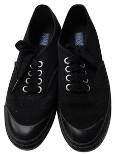 Keds Lace Up Casual Black Athletic