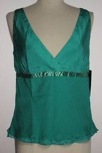 Kenneth Cole Ny Womens Top Green