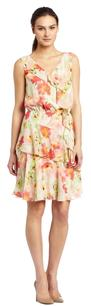 Kenneth Cole short dress pastel floral on Tradesy