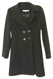 Kenneth Cole Reaction Trench Wool Trench Coat
