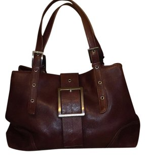 Kenneth Cole Tote in Dk Brown