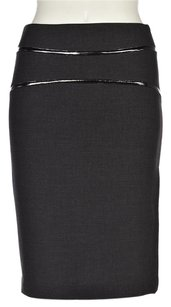 Kensie Pretty Womens Skirt Gray