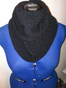 Khosi Clothing & Accessories Khosi Clothing Crochet Cable Statement Infinity Fall Winter Scarf