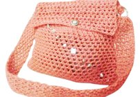 Khosi Clothing & Accessories Messenger Crochet Cross Body Bag