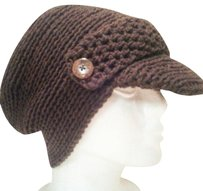 Khosi Clothing & Accessories Button Crochet Ball Cap Hat