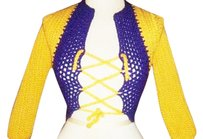 Khosi Clothing & Accessories Corset Crochet Chic Sweater