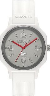 Lacoste Lacoste 80th Anniversary White Silicone Mens Watch 2010689