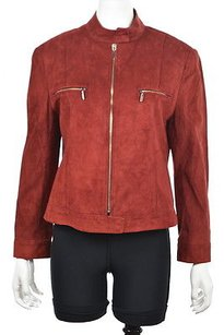 Lafayette 148 New York Womens Red Jacket