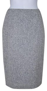 Lafayette 148 New York Womens Skirt Black / White / Gray / Silver