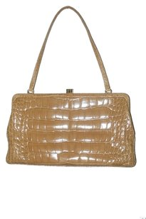 Lambertson Truex Alligator Shoulder Bag