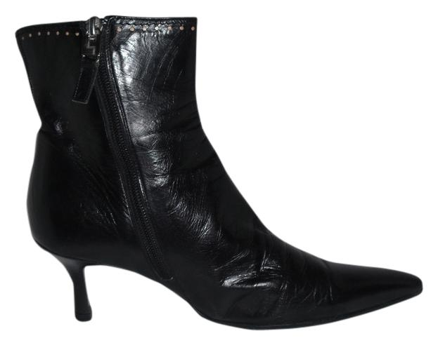 Lambertson Truex Leather Pointed-Toe Booties free shipping for sale clearance limited edition 4bIF0