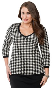 Lane Bryant Houndstooth Sweater