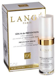 LANGE LANGE PARIS PREVENTION SERUM Ultra Consentrated, with Seaweed extract and Anti-Ageing active