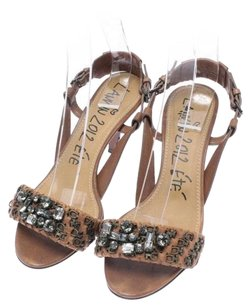 Lanvin Dark Beige Sandals