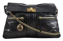 Lanvin Leather Gold Shoulder Bag
