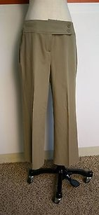 Larry Levine Stretch Sage Capri/Cropped Pants Greens
