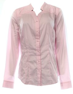 Laundry by Shelli Segal Button-down-shirt Color-pink Top