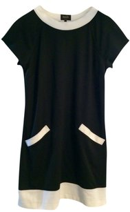 Laundry by Shelli Segal short dress Black w/ white trim on Tradesy