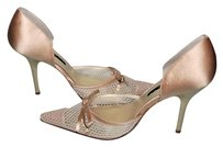 Laundry by Shelli Segal Wedding Career Slip On Beige Pumps