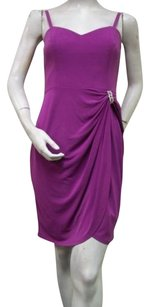 Laundry by Shelli Segal Sugar Plum Beaded Ring Strapless Wrap 317578901 Dress