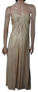 Laundry by Shelli Segal Gown Grecian Draped Prom Dress