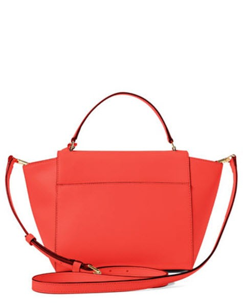 Lauren Ralph Lauren Darwin Leather New New With Tags Satchel in cayenne  gold. 1234
