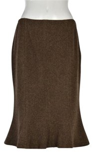 Lauren Ralph Lauren Pencil Skirt Brown