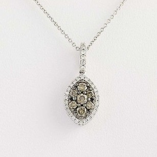 Le Vian Le Vian Diamond Pendant Necklace 18 - 14k White Gold .50ctw
