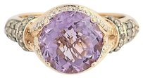 Le Vian Le Vian Cotton Candy Amethyst Diamond Ring - 14k Gold Checkerboard Cut 4.28ctw