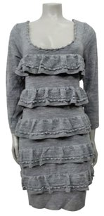 Leifsdottir short dress Gray Tiered Ruffle on Tradesy