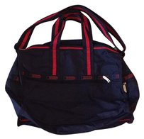 LeSportsac Navy/Red Travel Bag