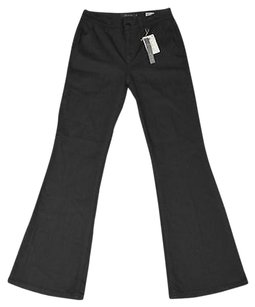 Level 99 A8 High Rise Stretch Tencel Slash Pockets 27 Flare Leg Jeans