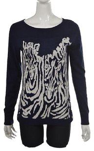 Lilly Pulitzer Womens Navy Sweater