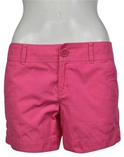 Lilly Pulitzer Womens Casual Solid Shorts Pink