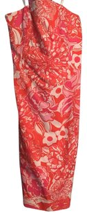 Lilly Pulitzer short dress Orange and Pink on Tradesy