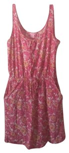 Lilly Pulitzer short dress pink/multi Cover Up Chum Bucket on Tradesy